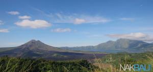 Kintamani volcano scenery