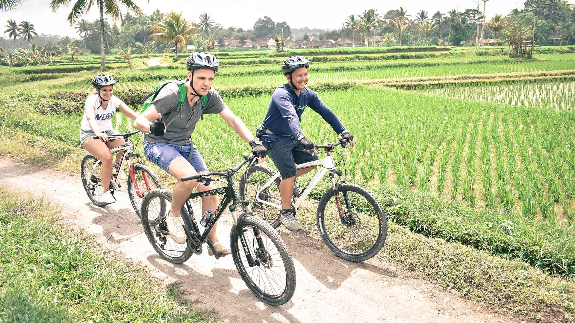 Kintamani Ubud Cycling Tour